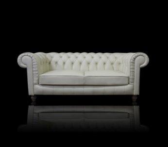 Sofa Chesterfield Lady Rem Skóra