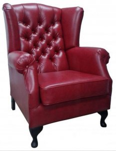 Fotel Chesterfield Uszak Old