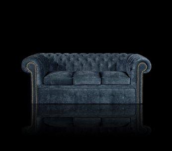 Sofa Chesterfield Classic plusz Plus rozkładana