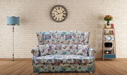 Sofa Chesterfield Uszak Decoration Plus rozkładana