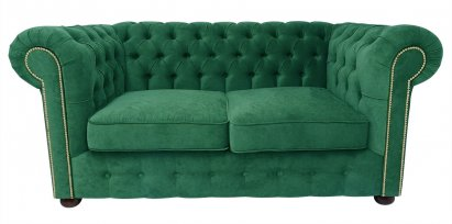 Sofa Chesterfield Violett