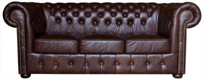 Sofa Chesterfield Classic skóra Dubai