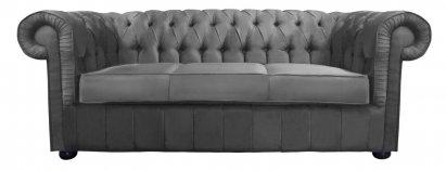Sofa Chesterfield Diana plusz tkanina