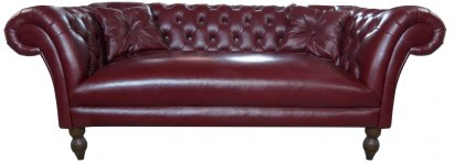 Sofa Chesterfield Diva Rem skóra