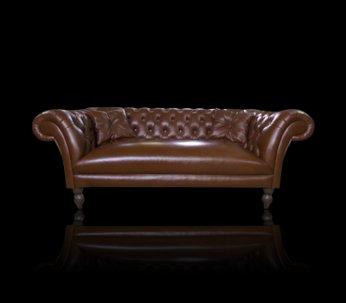 Sofa Chesterfield Diva Rem skóra