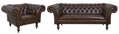 Sofa Chesterfield Diva skóra