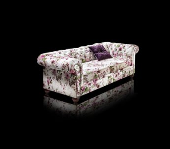 Sofa Chesterfield Lady Decoration