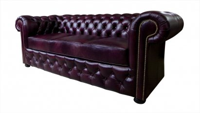 Sofa Chesterfield March skóra