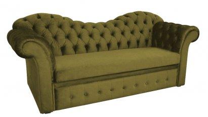 Sofa Chesterfield Morland z funkcją spania i pojemnikiem