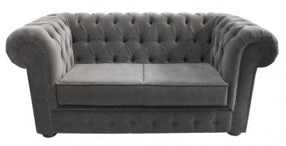 Sofa Chesterfield Violett