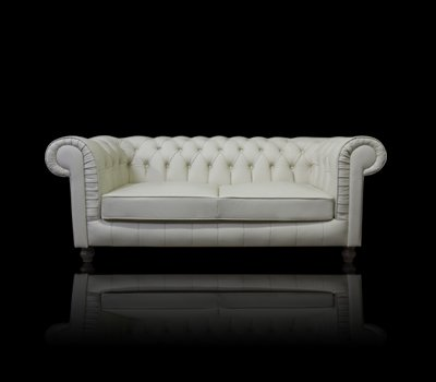 Sofa Chesterfield Lady Rem Skóra