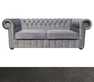 Sofa Chesterfield Classic XL 3,5 os. Paris Anthracite
