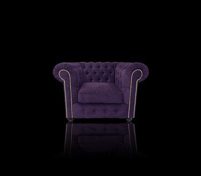 Fotel Chesterfield Violett z pojemnikiem