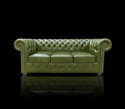 Sofa Chesterfield Classic 3 XL skóra