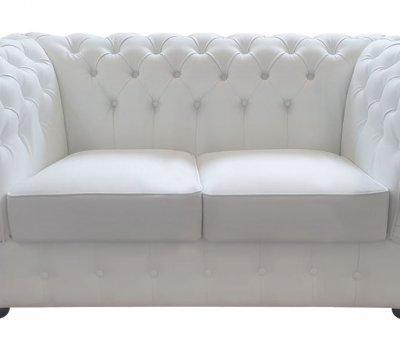 Sofa Chesterfield Prestige 2 eko-skóra