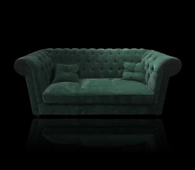 Sofa Chesterfield Violett Tall