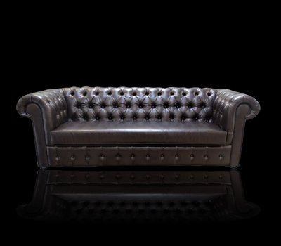 Sofa Chesterfield Ideal ekoskóra