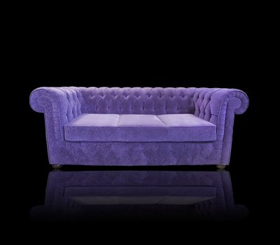 Sofa Chesterfield March (fiolet)