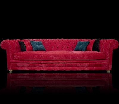 Sofa Chesterfield March plusz materiał