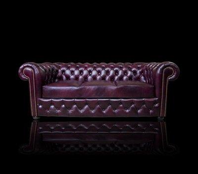 Sofa Chesterfield March skóra