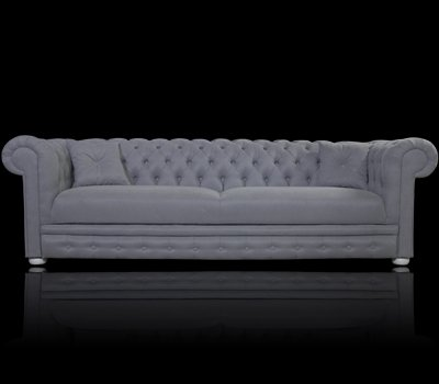 Sofa Chesterfield March Rem z funkcją spania