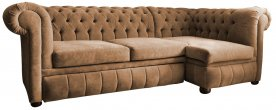 Narożnik Chesterfield March Rem 260x260 cm