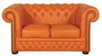 Sofa Chesterfield Original  Lux 2 osobowa 160 cm