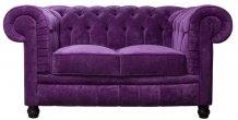 Sofa Chesterfield Lady 2 osobowa 160 cm
