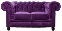Sofa Chesterfield Lady 2 osobowa 160 cm