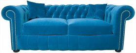 Sofa Chesterfield March Rem 3 osobowa