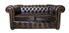Sofa Chesterfield Vintage 2 osobowa 180 cm