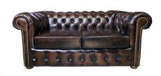 Sofa Chesterfield Vintage 2 osobowa 180 cm